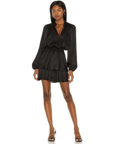 Платье мини атласное - черное Show Me Your Mumu