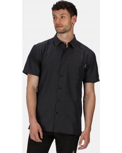 Рубашка с коротким рукавом - серая Regatta