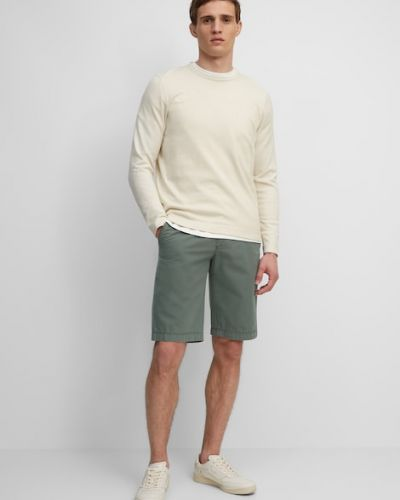 Zielone szorty bawełniane Marc O Polo