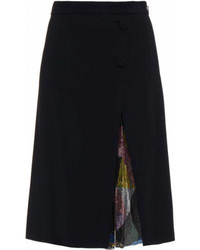 Spódnica z siateczką - czarna Emilio Pucci