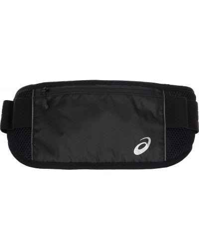 Черная поясная сумка с поясом Asics