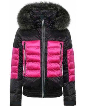 Горнолыжная куртка черная розовая Toni Sailer