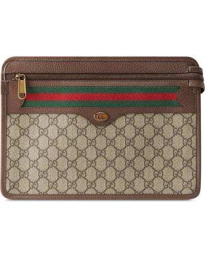 Sport torba z płótna brezentowy Gucci