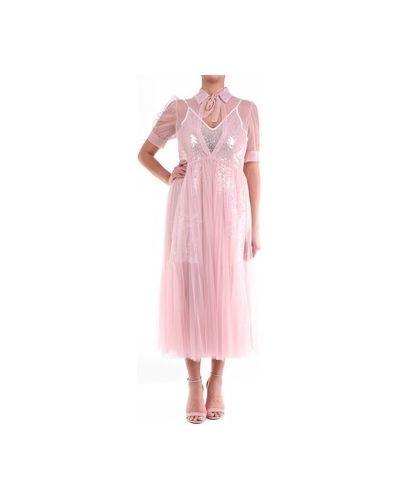 Różowa sukienka Amy Lynn