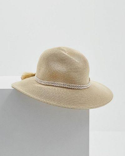 Шляпа с широкими полями бежевая Seafolly Australia