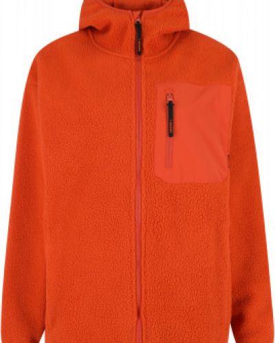 Оранжевая флисовая кофта Merrell