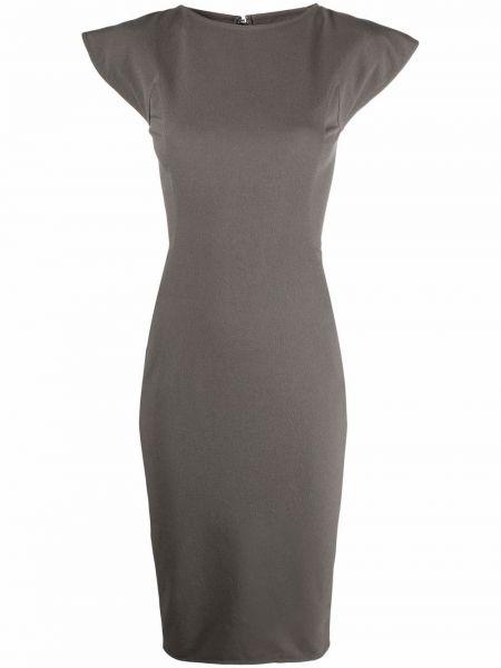 Sukienka długa bawełniana Rick Owens