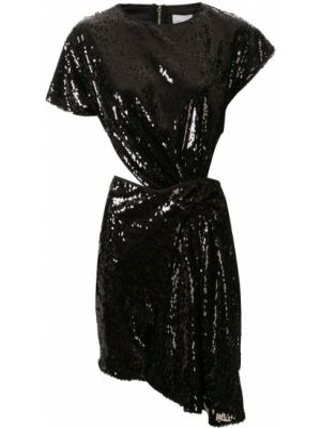 Платье мини на молнии черное Alice Mccall