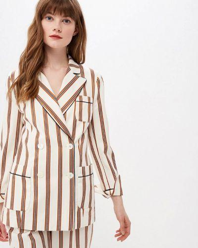 Пиджак итальянский белый Beatrice.b