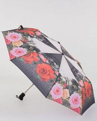 Текстильный розовый автоматический зонт Magic Rain