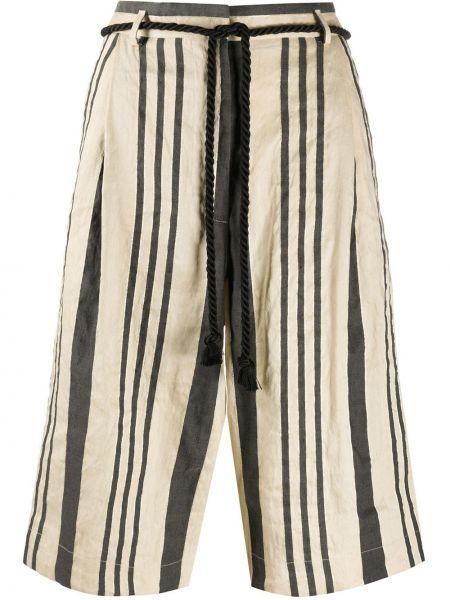 Хлопковые шорты с карманами Forte Forte