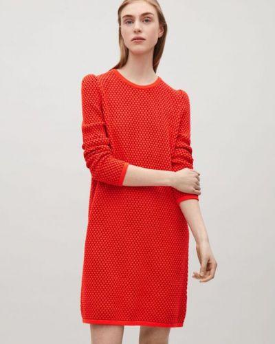 Трикотажное платье - красное Cos