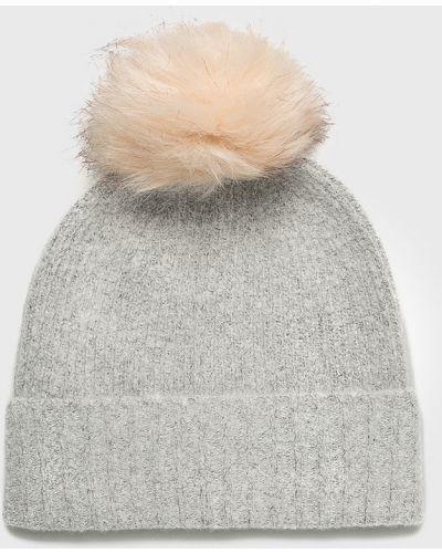 Зимняя шапка с помпоном с отворотом Pieces