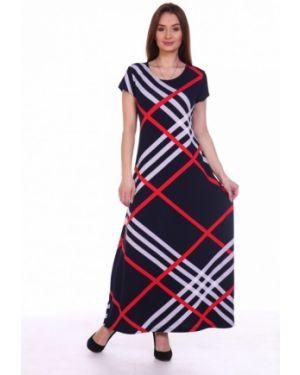 Платье в полоску из вискозы инсантрик