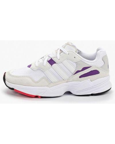 Кроссовки замшевые белый Adidas Originals
