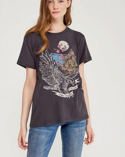 Серая футболка индийская Billabong