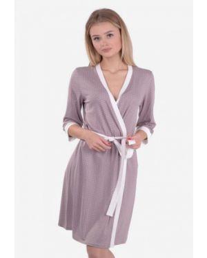Домашний халат - фиолетовый N.el.