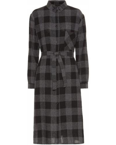 Платье миди из вискозы бесшовное Woolrich