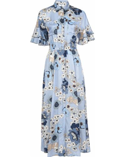 Платье из вискозы - голубое Sfizio