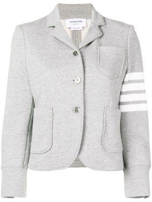 Трикотажный пиджак - серый Thom Browne