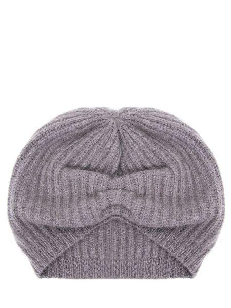 Вязаная коричневая кашемировая шапка Gentryportofino