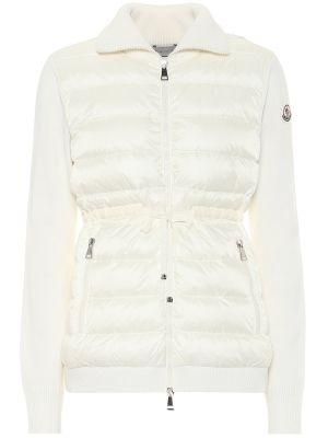 Пуховая куртка - белая Moncler