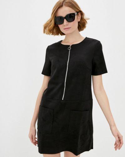 Платье - черное Zolla