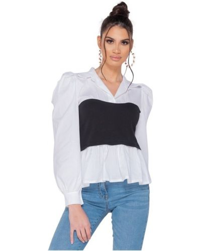 Biała bluzka Parisian