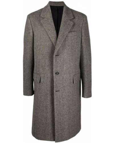 Brązowy płaszcz Bottega Veneta