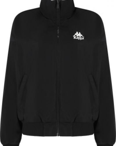Куртка с капюшоном - черная Kappa