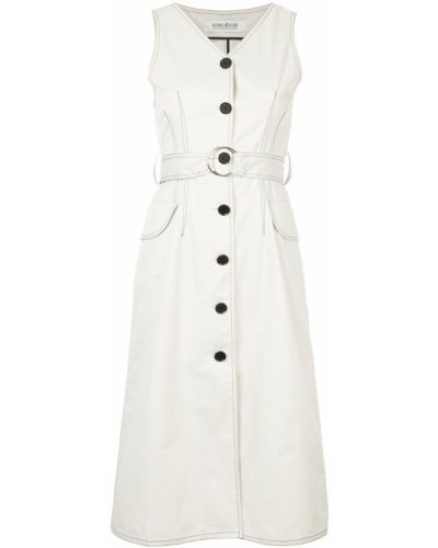 Платье платье-рубашка без рукавов Kimhekim