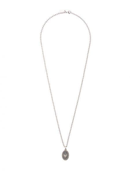Ожерелье из серебра серебряный Nialaya Jewelry