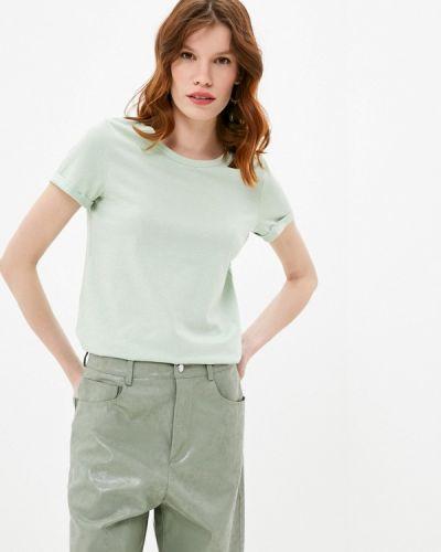 Зеленая с рукавами футболка Q/s Designed By