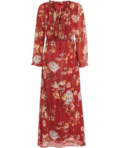 Красное платье макси Bonprix