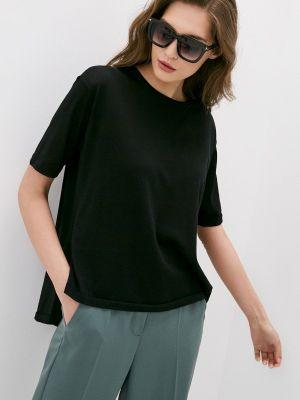 Черная футболка с короткими рукавами Falconeri