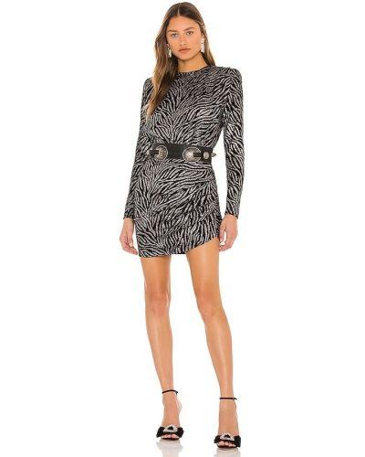 Бархатное платье мини - черное Bronx And Banco