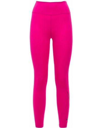 Różowe rajstopy do biegania Nike