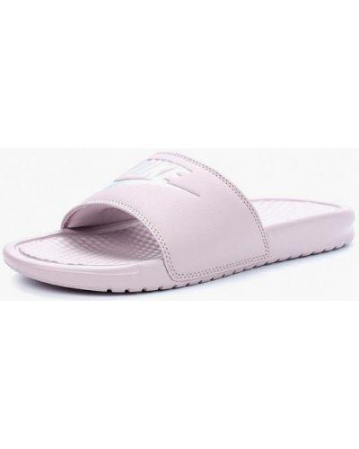 Розовые сланцы Nike