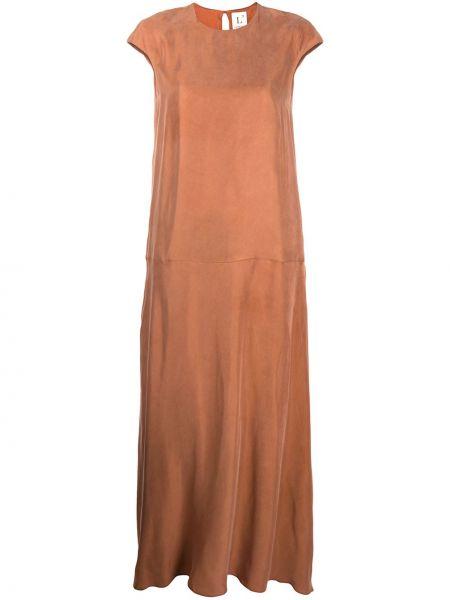 Платье макси платье-солнце расклешенное Lautre Chose