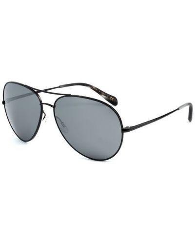 Солнцезащитные очки авиаторы металлические Oliver Peoples