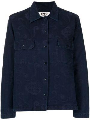 Niebieska koszula bawełniana Ymc