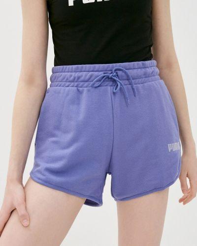 Спортивные шорты - фиолетовые Puma