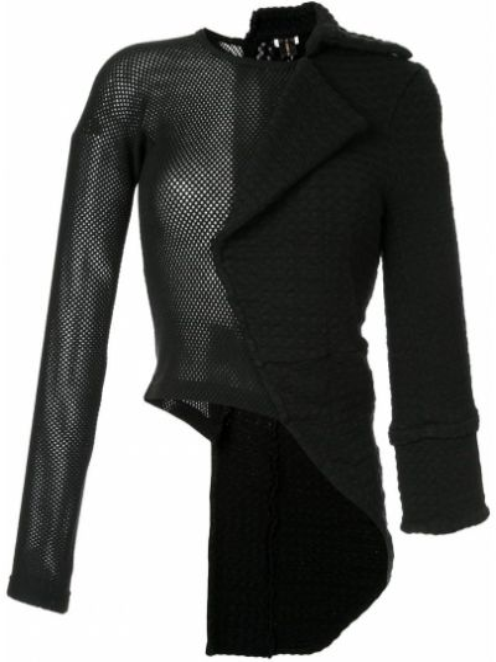 Черная длинная куртка Comme Des Garçons Pre-owned