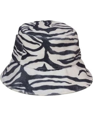 Czarny kapelusz z printem Lack Of Color