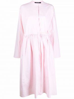Платье макси длинное - розовое Sofie D'hoore