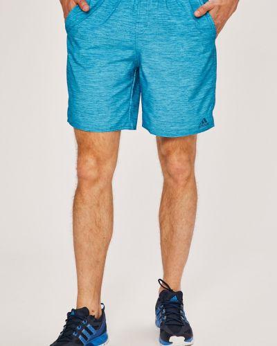 Спортивные шорты свободные на резинке Adidas Performance