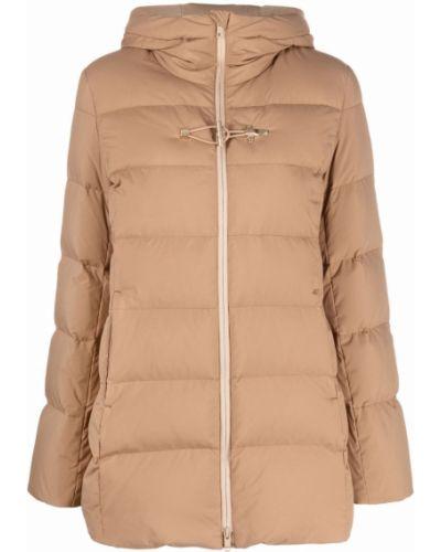 Куртка с капюшоном - бежевая Fay