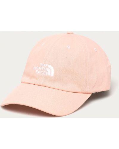Różowy kapelusz materiałowy The North Face
