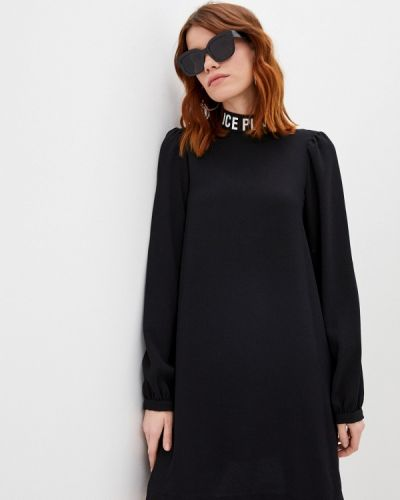 Повседневное черное платье Ice Play