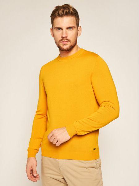 Sweter - żółty Roy Robson